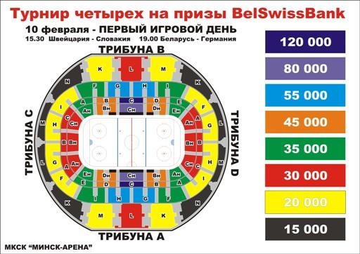 Saturday 15.00 Minsk-Arena 3