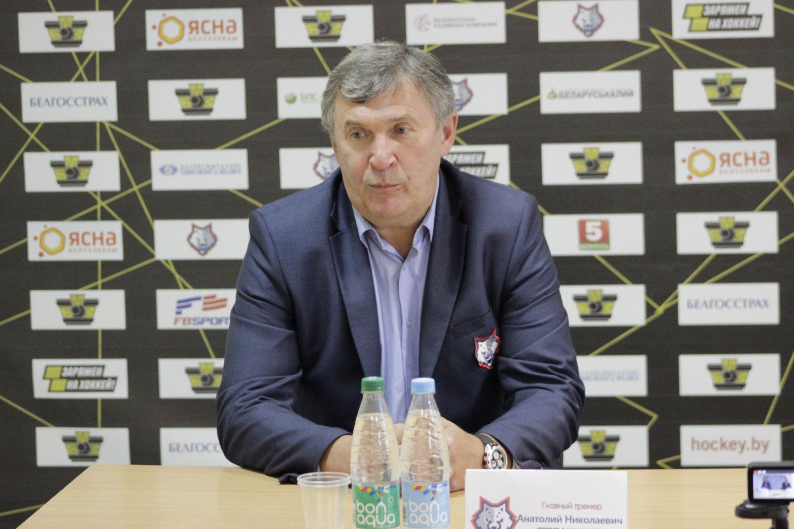 Анатолий Степанищев: одна команда настраивается, а у другой сидит в подкорочке, что мы все равно сильнее