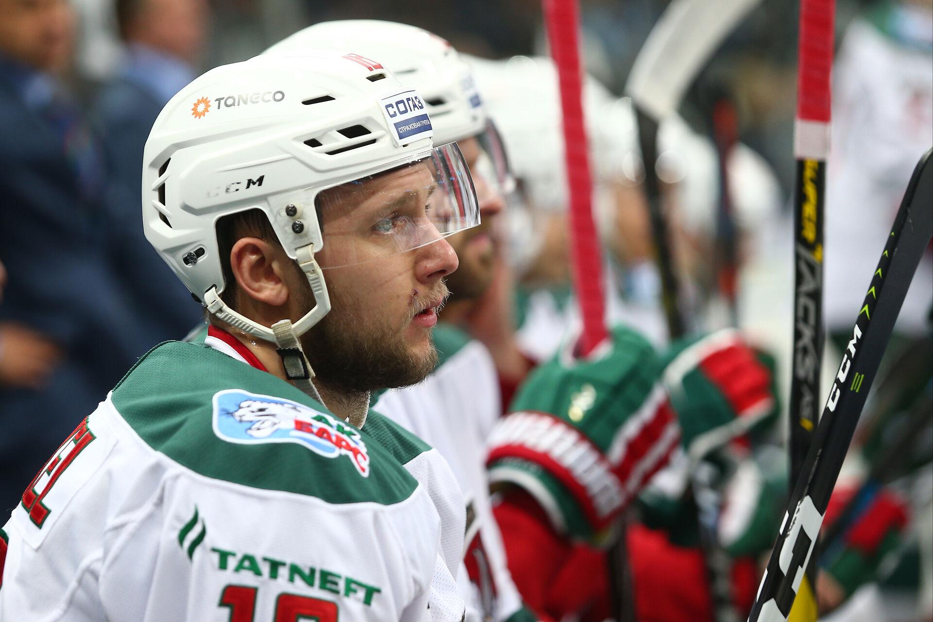 Кристиан Хенкель забросил первую шайбу в КХЛ в форме «Ак Барса»
